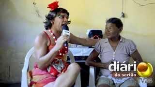 Maria Calado visita dona Nem sucesso no whatsApp em Cajazeiras