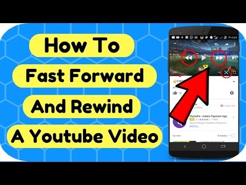 How To Fast Forward & Rewind A YOUTUBE Video🤘