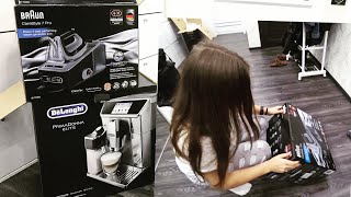 Наши ПОКУПКИ ОБЗОР Delonghi ecam 650.75.ms и Braun CareStle 7 Pro