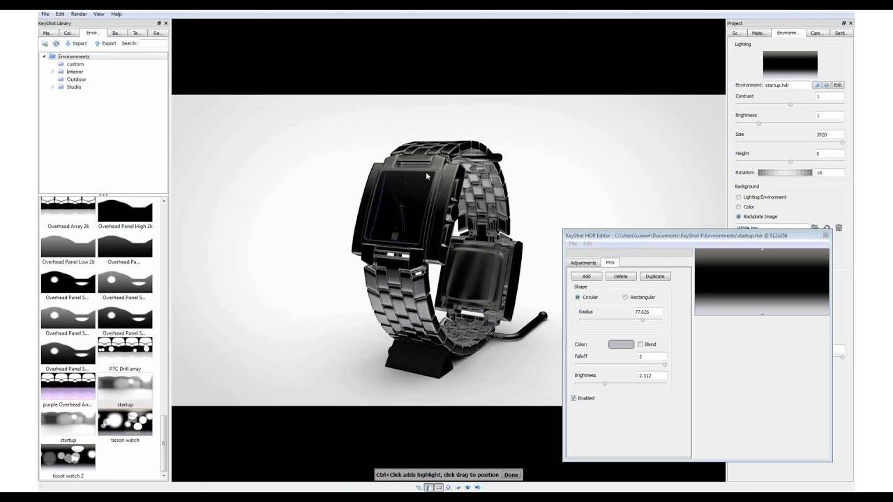 KeyShot Webinar 20: Best Practices for Studio Lighting Product Shots ...