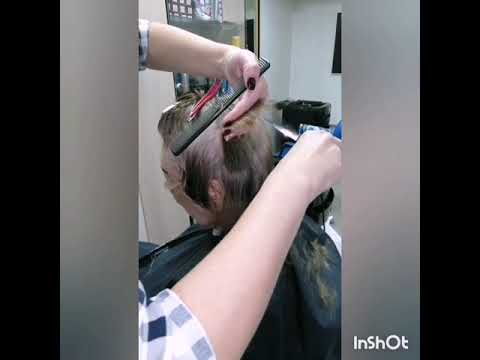 Как стричь Каскад на короткие волосы