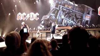 AC/DC Rock N Roll Train Live 26.10.2008 Wachovia  Arena
