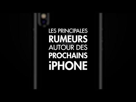 iPhone 8, iPhone 8 Plus, iPhone X : les principales rumeurs