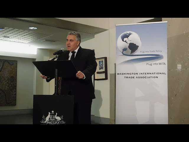2/5/2018 Conversation with Ambassador Joe Hockey on Trade in the Asia-Pacific Region Pt. 1