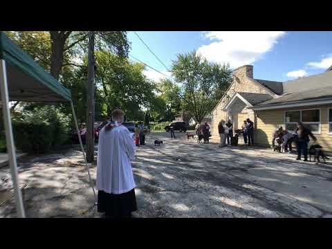 St. Francis Day Pet Blessing