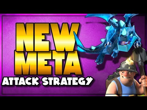 Two NEW META Attack Strategies   Miners and Electro Drags   Clash of Clans