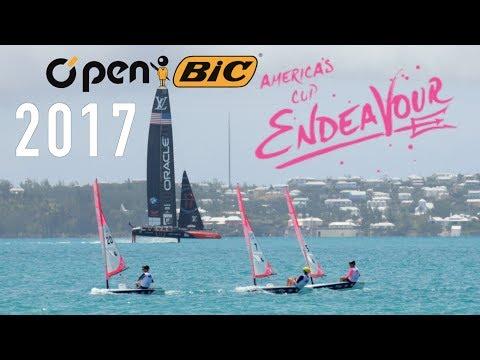 America's Cup Bermuda - O'pen BICs at A.C. Endeavour O'pen