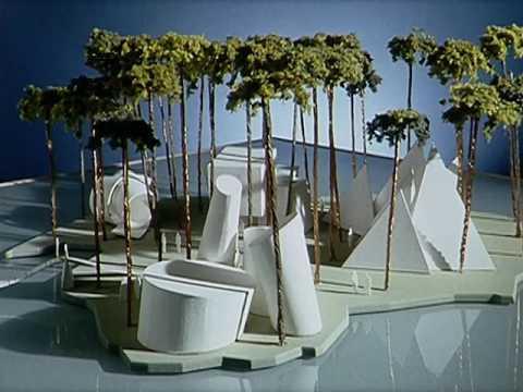 Architect Philip Johnson interview (2001)