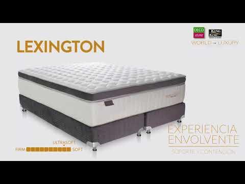 King Koil   World Luxury   Lexington Gris