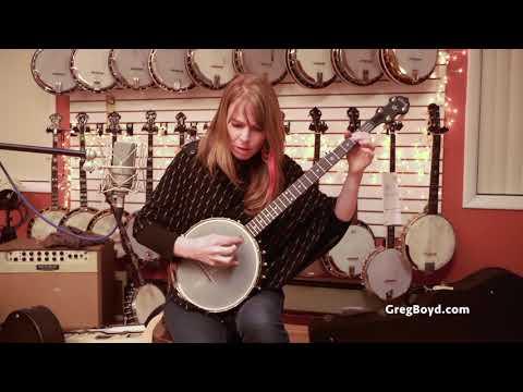 Repeat Recent Deering Vega Senator Open-Back Banjo by Greg