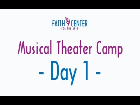 2016 Musical Theater Camp Day 1