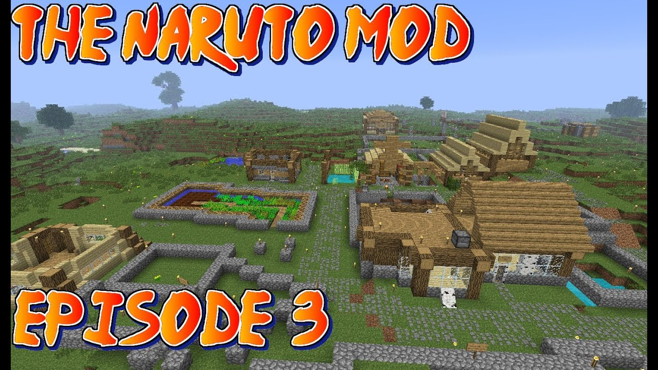 Download Minecraft Naruto Mod Pack : Season 2 : Episode 3 : Sorry For Being Late!