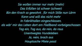 Casper-Auf und Davon Lyrics