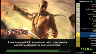 Jade Empire RTA Any% speedrun Part 1/2