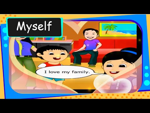 Short story for kids - About Myself  - English