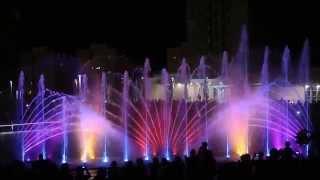 מזרקה מוזיקלית פארק אשדוד וידאו איכות גבוהה