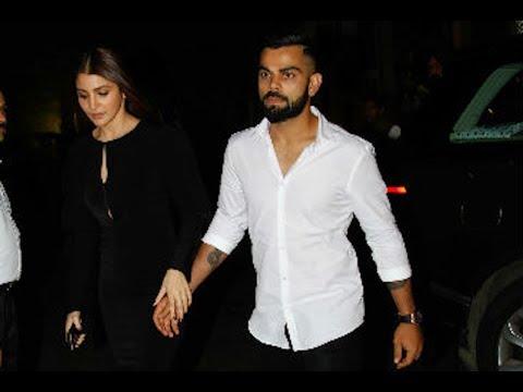 Anushka Sharma & Virat Kohli enter HAND IN HAND at Zaheer Khan's ENGAGEMENT
