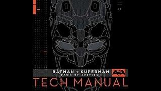 Batman v Superman Dawn of Justice Tech Manual Unboxing