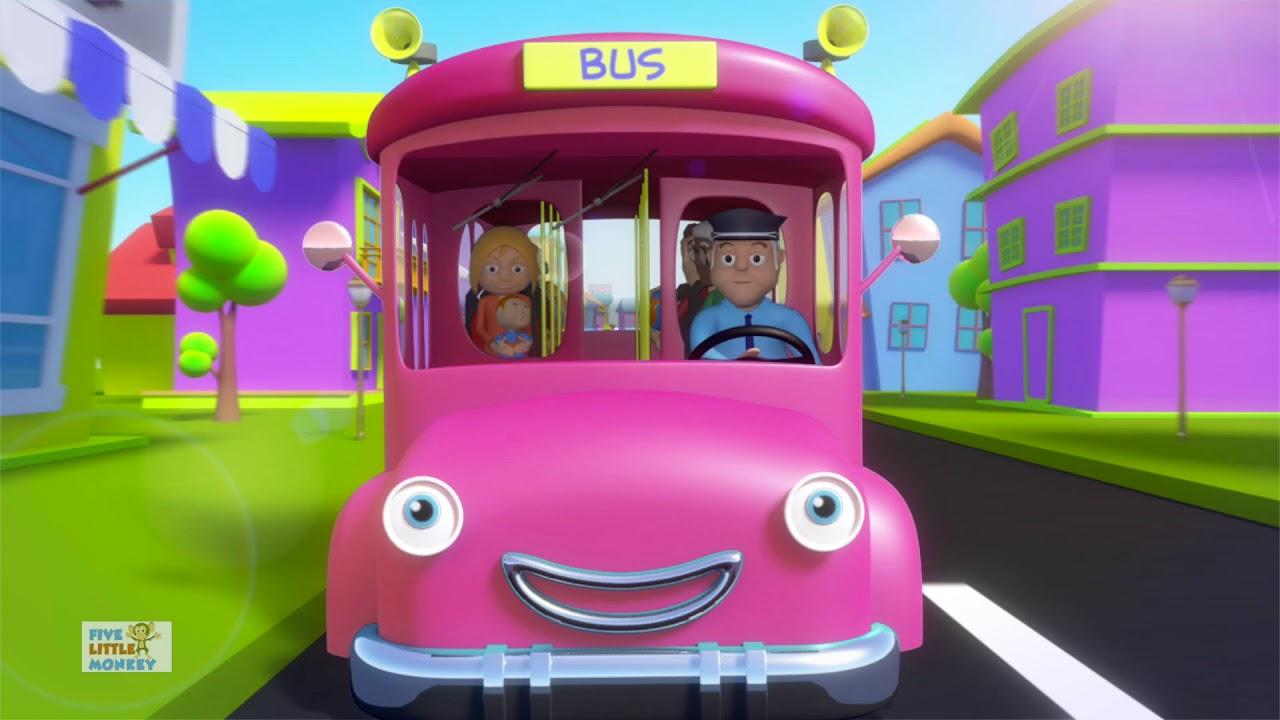 Wheels On The Bus | Nursery Rhymes & Children Rhyme | Baby ...
