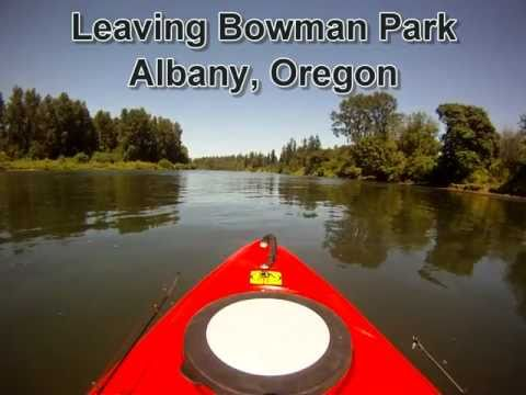 Willamette River Albany to Independence Kayaking and Camping