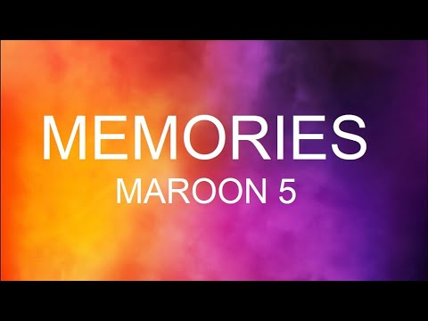 maroon-5---memories-traduzione-italiano