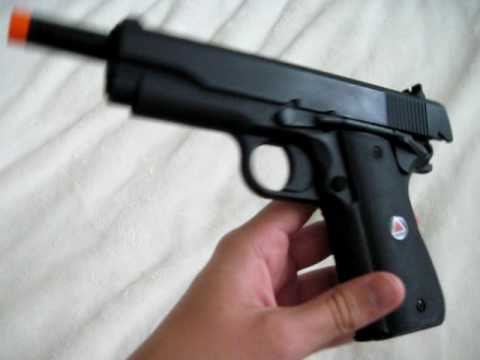 Airsoft Review-Colt Delta Elite Spring Airsoft Pistol