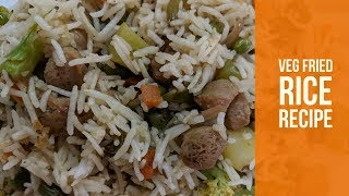 Veg Fried Rice Recipe (Healthy and Easy to Make) | Hello Friend TV