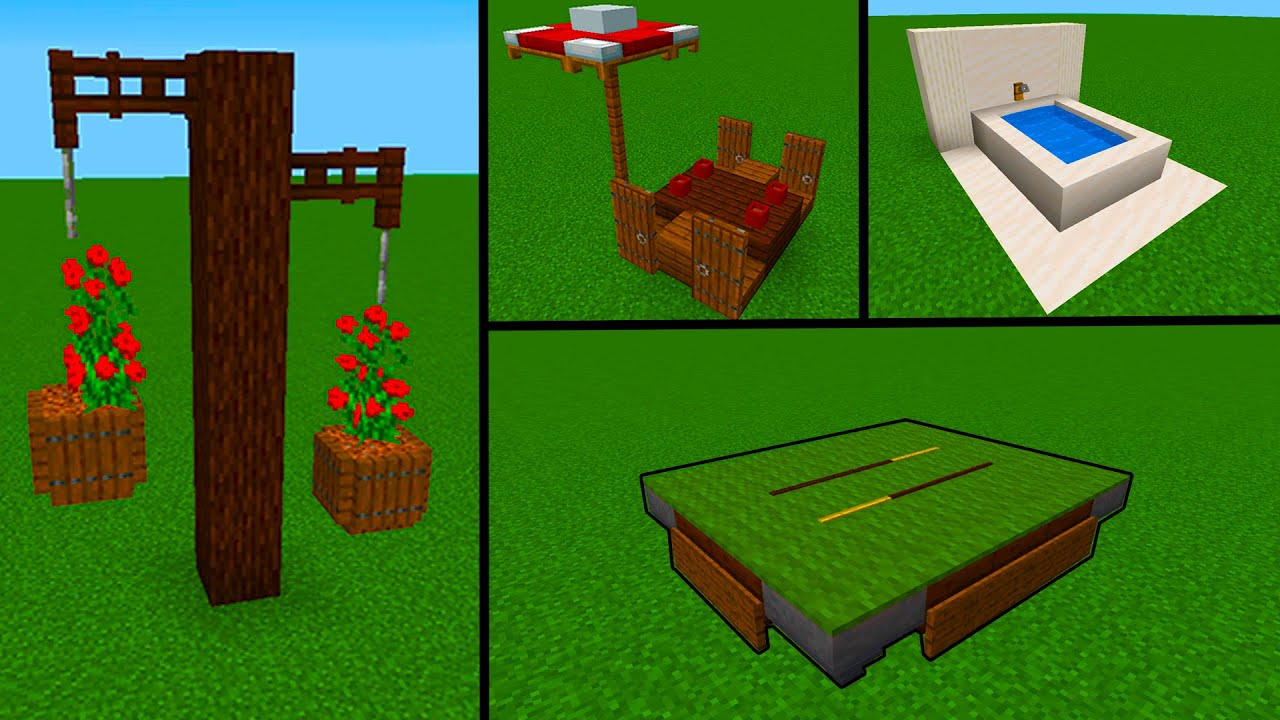 Cool Minecraft Outdoor Decorations