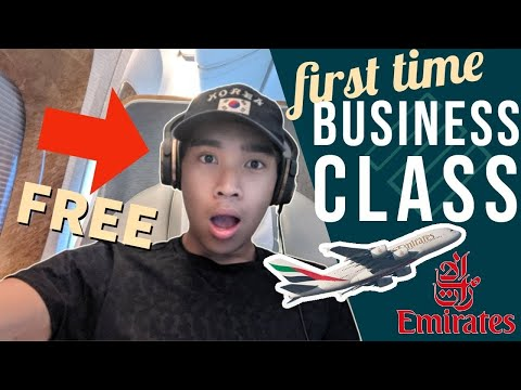 Emirates 777 Business Class For The First Time | Free Upgrade! | Addis Ababa To Dubai