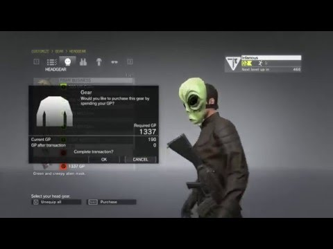 MGO3 Unreleased Headgear