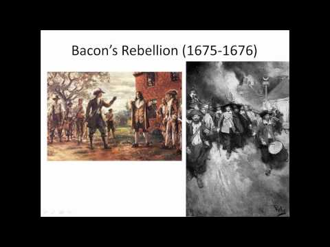 Bacon's Rebellion: The First Rebellion Against English Rule… In 1676