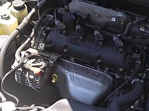 NISSAN ALTIMA 2.5 S CYLINDER 2 MISS FIRE P0302 - YouTube