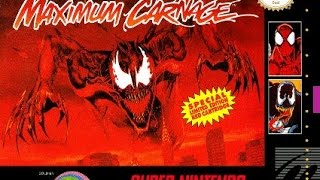 spider man venom maximum carnage snes playthrough