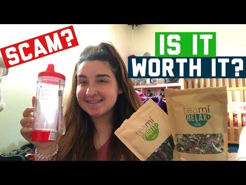 TEAMI TEA REVIEW | HONEST OPINION | * MUST WATCH *