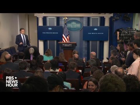 Watch Sean Spicer's press briefing