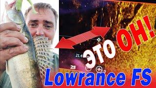 Lowrance FS 7 Я ЛОХанулся Увидел поймал Тест с компасом и без Сравнение с HDS LIVE 9