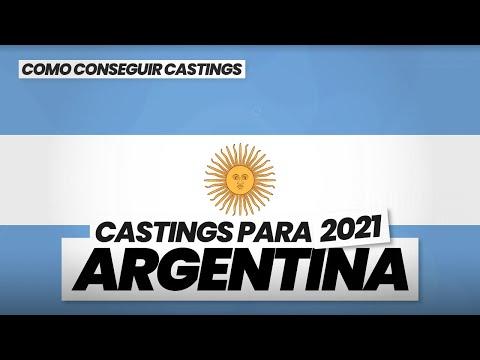 3 FORMAS de CONSEGUIR CASTINGS en ARGENTINA 2020/21 🇦🇷