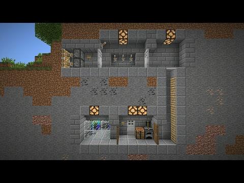 Как построить СЕКРЕТНУЮ БАЗУ в МАЙНКРАФТ - Видео из Майнкрафт (Minecraft)