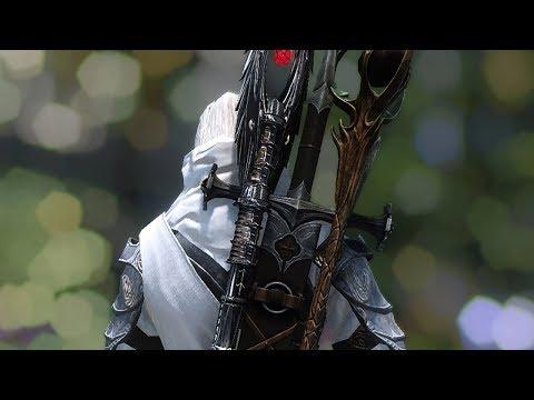 Скайрим - Размазываюший драконов (мини-эпизод серии Intense Action)