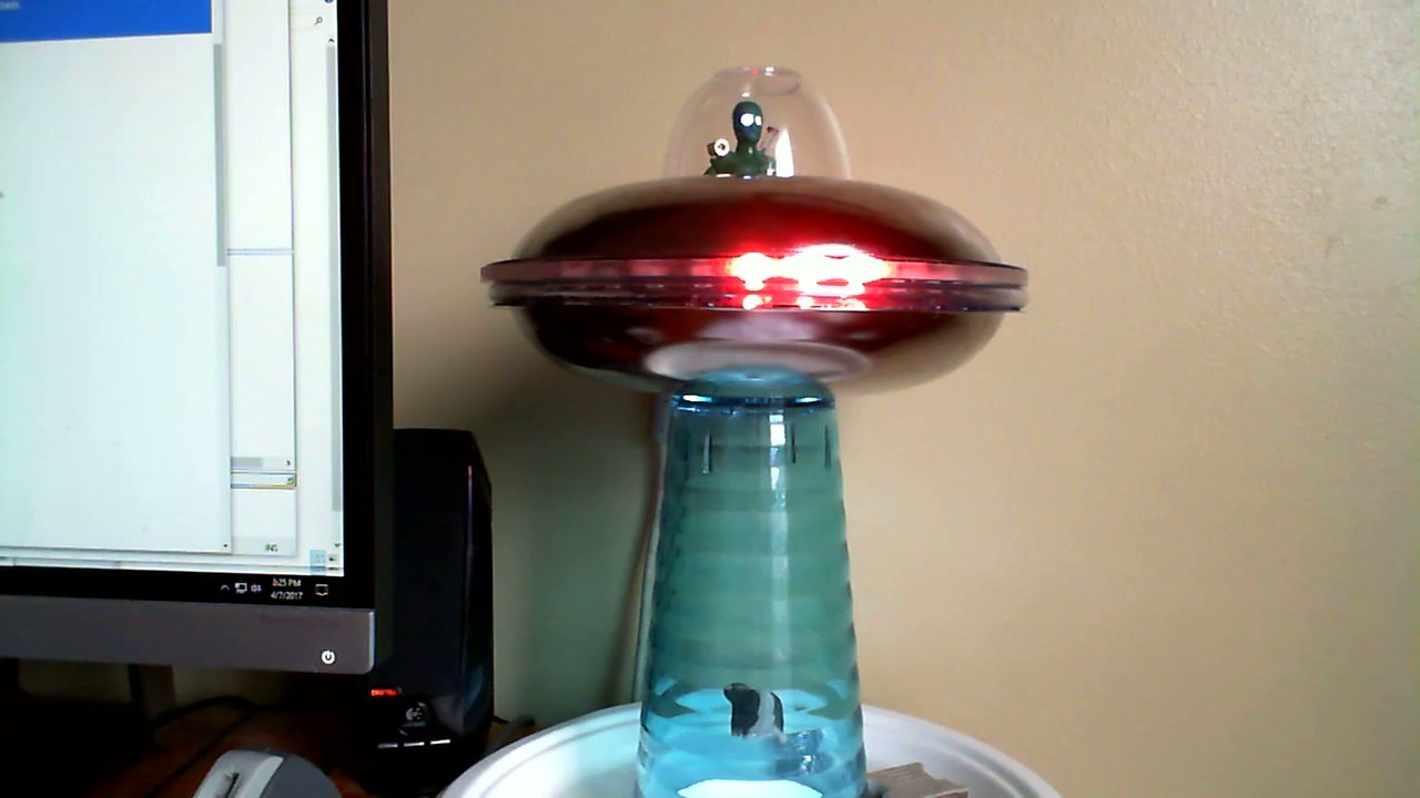 Perfect My Alien Abduction Lamp