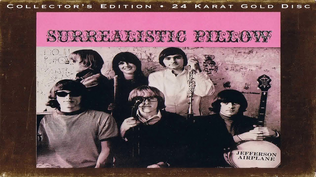 J  Airplane-Surrealistic Pillow (24K Gold Collector's Edition) Full HQ