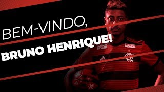 BEM-VINDO, BRUNO HENRIQUE!