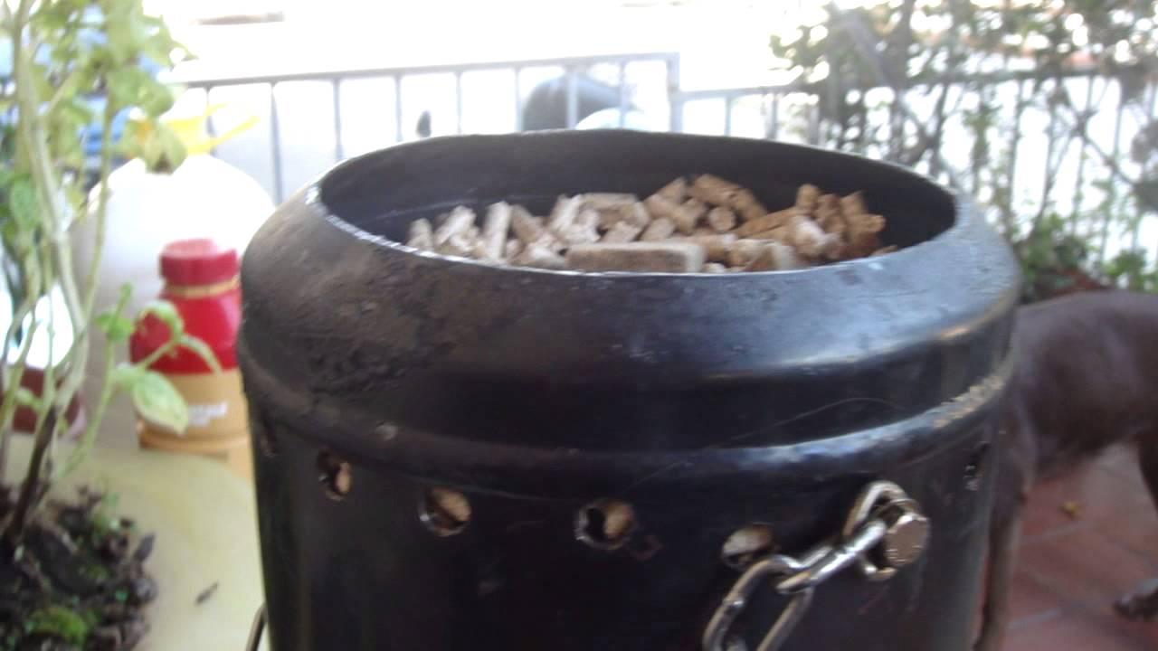 Modifica della piccola stufetta pirolitica da inserire nella stufa a legna youtube - Piccola stufa a legna ...