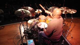 Calvin Rodgers Drum Clinic at Musicians Institute pt.1