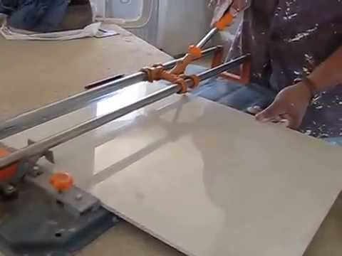 c mo cortar azulejo o porcelanato con cortadora youtube