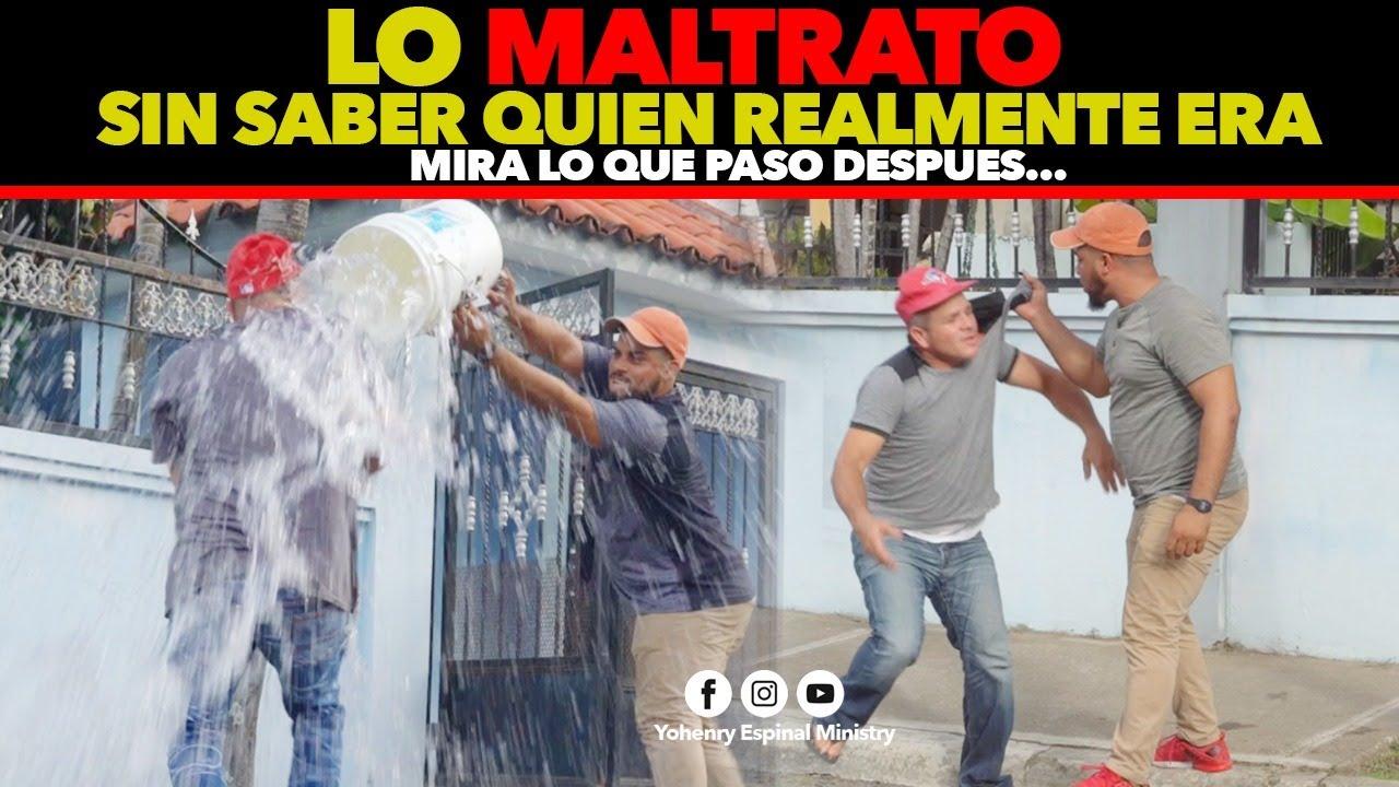Download LO MALTRATO SIN SABER QUIEN VERDADERAMENTE ERA // MIRA QUE PASO DESPUES..