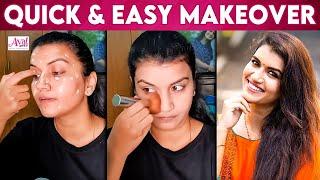 5 Mints College & Office Makeup – Raja Rani Archana | Sridevi, Tamil Actress, Vijay tv |Simple Makeup