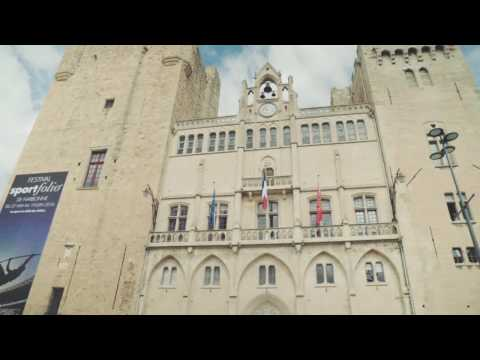 Narbonne France • Including the Archbishop's Palace & the Cathédral St-Just | European Waterways