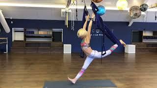 Fly-yoga, Йога в гамаках,  урок по Йоге в гамаках, Aeroyoga