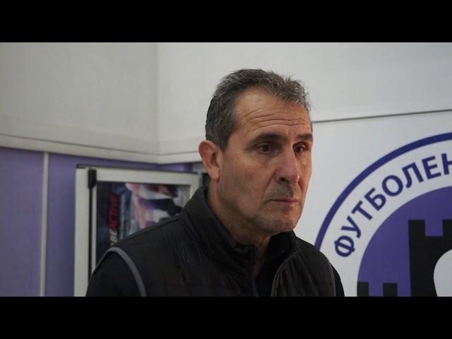 Димитър Димитров след победата над